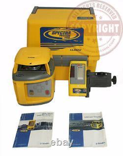 Spectra Precision Ll600 Niveau De Laser Rotatif Auto-échelonné, Transit, Topcon, Trimble