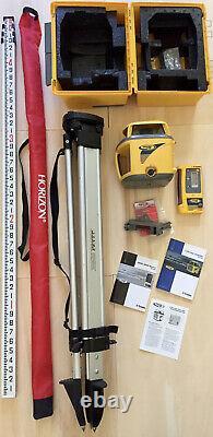 Spectra Precision Ll600 Niveau Laser Rotatif Auto-nivellement, Récepteur Trimble Cr600
