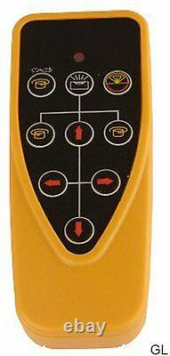 Spot-on Rotary Laser Level 500 Red Self-levelling, Sitemaster Set, Gamme 500m