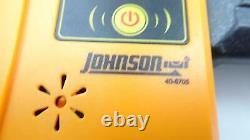 Système Laser Rotatif À Auto-niveaux Johnson 40-6519 Et Trousse De Trépied 40-6705