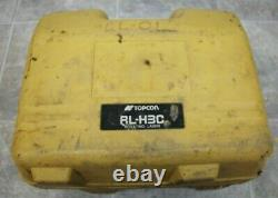 Topcon Rl-h3c Auto-nivellement / Rotary Laser Level Withcase