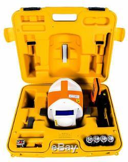 Topcon Rl-h3d Taurus Autolissants Niveau Laser Rotatif