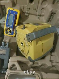 Topcon Rl-h4c Auto Nivellement Laser Rotatif Avec Récepteur Hl 450
