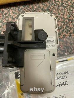 Topcon Rl-h4c Auto Nivellement Laser Rotatif Niveau Topcon Ls-80l Récepteur Laser