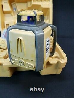 Topcon Rl-h4c Db Niveau Laser Rotatif Avec Récepteur Ls-80b 81