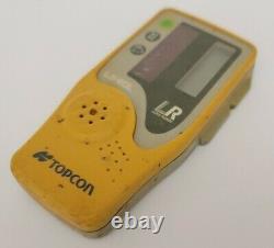Topcon Rl-h4c Niveau Laser Rotatif Automatique Avec Récepteur Laser Ls-80l Avec Boîtier