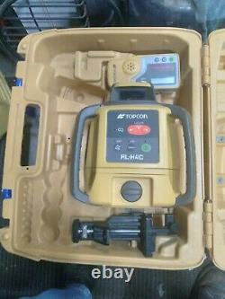 Topcon Rl-h4c Self Leveling Niveau Laser Rotatif De Longue Portée Excellent Shape