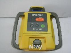 Topcon Rl-h4c Utilisé Niveau Laser Rotatif D'auto-niveautage