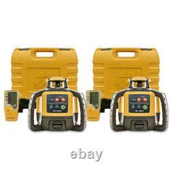 Topcon Rl-h5a Auto-niveau De Construction De Niveau Rotatif Niveau Laser, 2-paquet