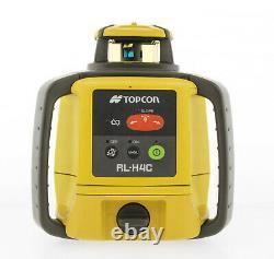 Topcon Rl-h5a Auto-nivellement Rotary Grade Laser Avec Télécommande