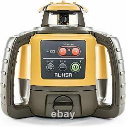 Topcon Rl-h5a Autolissant Laser Rotatif Horizontal Avec Bonus Eden Carnet De Terrain