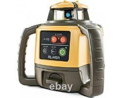 Topcon Rl-h5a Autolissants Niveau Laser Rotatif, Carnet De Terrain, Ls-100d Récepteur