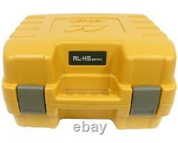 Topcon Rl-h5a Autolissants Niveau Laser Rotatif, Carnet De Terrain, Ls-80l Récepteur, Kit