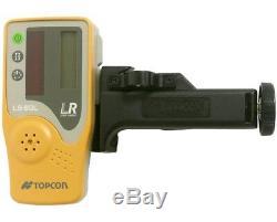 Topcon Rl-h5a Autolissants Rotary Grade Laser W Laser Pole & Telescoping Rod