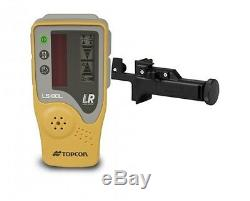 Topcon Rl-h5a Autolissants Rotatif Niveau Laser Niveau Trépied W Et 14' Rod Dixièmes