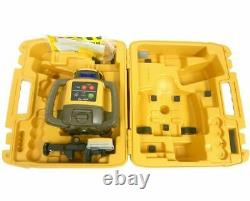 Topcon Rl-h5a Kit Laser Rotary Self Leveling 16' Grade Rod Inches Et Trépied