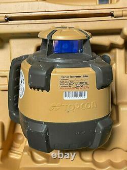 Topcon Rl-h5a Laser Rotatif À Nivellement Automatique + Récepteur Ls-80l État D'utilisation