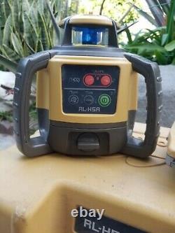 Topcon Rl-h5a Niveau Laser Rotatif