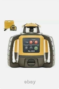 Topcon Rl-h5a Rotary Laser - Récepteur Avec Boîtier De Transport Dur Brand New