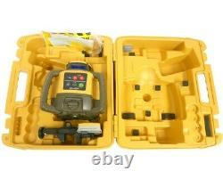 Topcon Rl-h5a Rotary Laser & Récepteur Avec Boîtier De Transport Dur Flambant Neuf