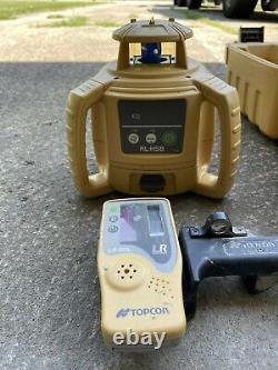 Topcon Rl-h5b Niveau De Laser Rotatif Auto-niveau