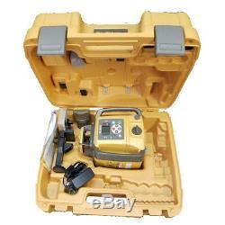 Topcon Rl-sv1s Simple Pente Autolissants Niveau Laser Rotatif Modèle Rechargeable