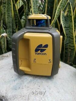 Topcon Rl-sv2s Double Pente Auto-nivellement Niveau Laser Rotatif Grade