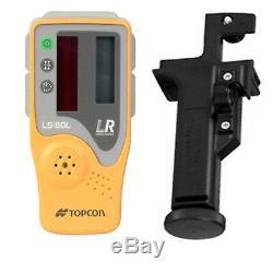 Topcon Rl-sv2s Rb Double Pente Autolissants Niveau Laser Rotatif Modèle Rechargeable