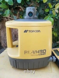 Topcon Rl-vh3d Auto Nivellement Rotary Laser