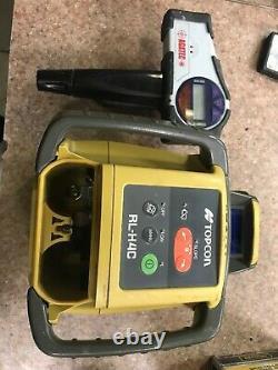 Topcon-h4b Auto Rl Nivellement Niveau Laser Rotatif Package, Transit, H4c-rl, 10