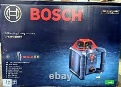 Tout Neuf! Bosch (grl800-20hvk) Autolissant Rotary Laser Kit Livraison Gratuite