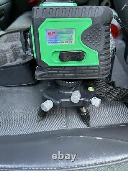 Trousse D'outils De Mesure Croisée De Niveau 12 À 360° À L'épreuve De L'eau Rotative